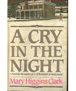A Cry in the Night Mary Higgins Clark HCDJ Susp... - $2.99