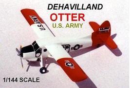 1/144 scale Resin Model Kit Dehavilland Otter US Army - $19.00