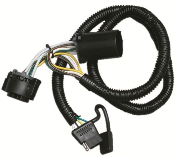 2009 dodge durango trailer hitch wiring kit and 50 similar items rh bonanza com 7 Pin Tow Wiring Jeep Tow Wiring Harness