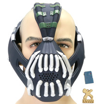 TDKR Dark Knight Bane Mask Tom Hardy PVC Cosplay Helmet Voice Changer Ch... - $55.29 CAD+