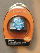 Vonage D-LINK VTA-VR Broadband Telephone Adapter Internet Phone 790069700743 - $19.99