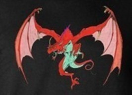 Haunted Power Rare Baby Male Red Fire Dragon Healing Ring Patience Wealth Love - $53.23