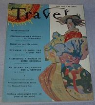 Travel Magazine July 1936 Outer Mongolia Czechoslovakia - $13.95