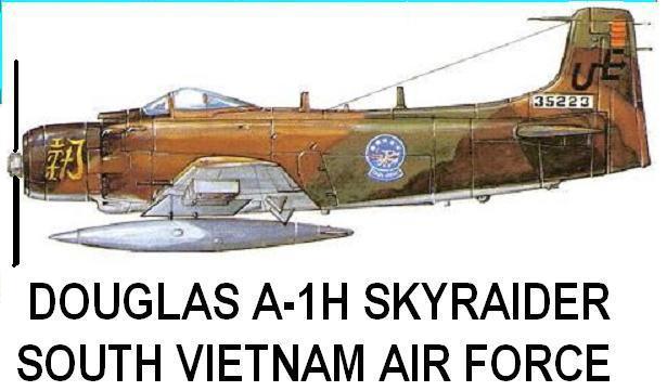 1/144 scale Resin Kit Douglas A-1H Skyraider South Vietnam Air Force VNAF - $16.00