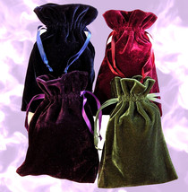 Haunted large velvet CHARGING MAGNIFYING ENHANCE FULL MOON MAGICK Cassia4  - $50.00