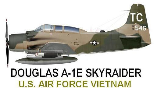 1/144 scale Resin Kit Douglas A-1E [AD-5] Skyraider US Air Force