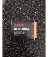 Kodak KLIC-7006 3.7 Volt Li-Ion Rechargeable Digital Camera Battery New - $17.99