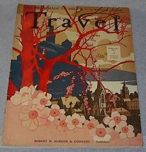 Travel Magazine February 1933 Mecca Dutch Guiana - $13.95