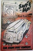 Surf's Up Black Rock Cove Metal Sign - $19.95