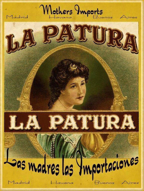 Mother's Imports La Patura Metal Sign