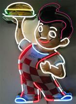 Retro Bob's Big Boy Restaurant Diner Neon (video) - $2,500.00