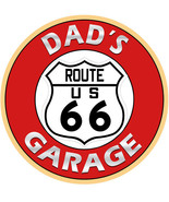 Dad's Garage Route 66 Metal Sign - $29.95