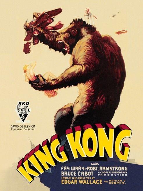 King Kong Metal Sign