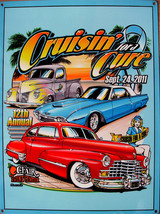 Cruisin' for a Cure Against Prostate Cancer Car Event September 2011 Met... - $19.95