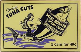 Tuna Cuts ( metal sign ) - $24.95