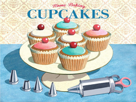 Cupcakes Dessert Baked Goods Sweets Bread Cake Metal Sign - $16.95