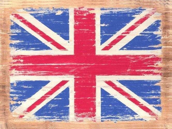 Union Jack British Flag Vintage Distressed Decorative Metal Sign