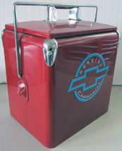Chevrolet Six Pack Picnic Cooler ( red ) - $175.00