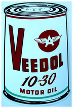 Tydol 10-30 Motor Oil Can (metal sign) - $40.00