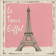 Le Tour Eiffel Paris France Vacation Travel Metal Sign - $16.95