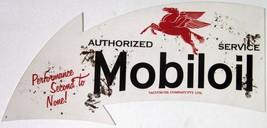 "Authorized Mobiloil  Arrow ( 34"" by 14"" ) - $125.00"