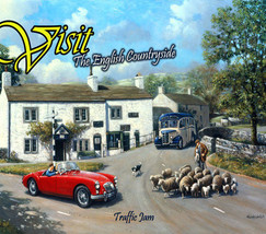 Visit The English Countryside Metal Sign - $16.95
