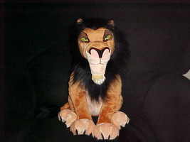 "18"" Scar Plush Stuffed Toy The Lion King The Disney Store Stitch Patch O... - $140.24"