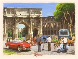 Rome Europe Vacation Metal Sign - $16.95