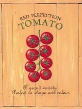 Fresh Grown Tomato Garden Produce Metal Sign - $16.95