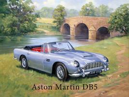 Aston Martin DB Englishside Metal Sign - $16.95