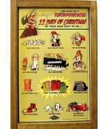 Redneck Jeff Foxworthy 12 Days of Christmas Holiday Wood Sign - $38.00