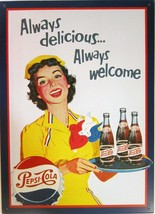 Pepsi:Cola - Always delicious... Advertising Me... - $14.95