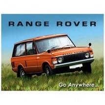 Range Roover Metal Sign - $16.95
