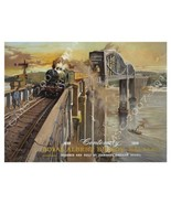 Royal Albert Bridge Saltash Transportation Retro Metal Sign - $16.95