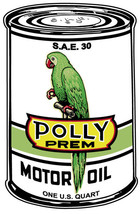 Polly Motor Oil Can - $100.00