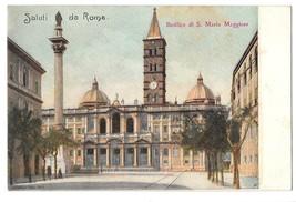 Rome Italy Basilica S Maria Maggiore Cathedral Marian Church Vintage Pos... - $4.99
