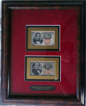 Circulated 25 Cents Framed Fractional Currency 1884 - $700.00