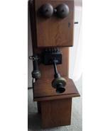 Double Island Oak Wall Telephone - $495.00