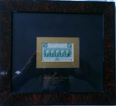 Circulated Framed 50c Fractional Note 1862 - $650.00
