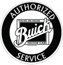 """Buick Authorized Service 22"""" Round Metal Sign - $80.00"""