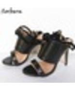 Sorbern Fashion Snake Sandals For Women High Heel Slip On Stripper Heels... - $269.64