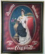 """Coca-Cola Advertisement """"Delicious-Refreshment"""" - $1,995.00"""