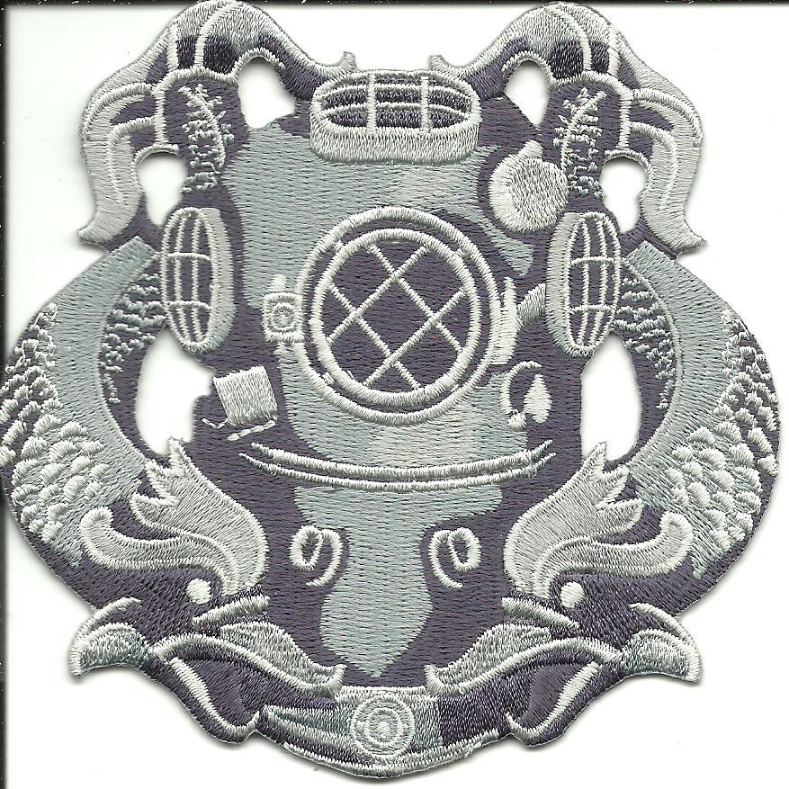 "Primary image for US Navy Diver Silver 1/16"" Badge"
