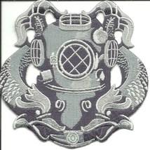 "US Navy Diver Silver 1/16"" Badge - $7.99"
