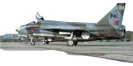1/144 scale English Electric Lightning T.5 XS420 Converts Revell F.6 Camo - $12.00