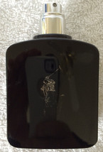 Polo Black Ralph Lauren 2.5oz Mens Eau de Toilette EDT Spray USED 1/2 Bo... - $37.39