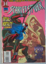 Marvel Comic Scarlet Spider 1995 Virtual Mortal... - $1.49