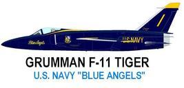 1/144 scale Resin Kit Grumman F-11F Tiger Blue Angels - $15.00