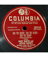 "Mary Martin & Arthur Godfrey ""But Me, I Love You & Go To Sleep, Go To Sl... - $5.00"