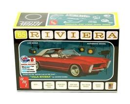 AMT Retro Deluxe Edition '65 Riviera 1:25 Scale Model Kit New in Box - $27.88
